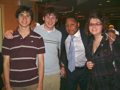 Mike and Wynton Marsalis